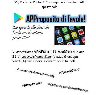 APProposito di favole…. gruppo 2004 on air!
